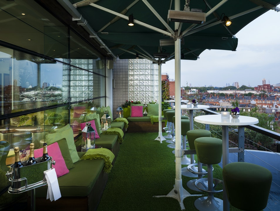 Rooftop Bar in London, England