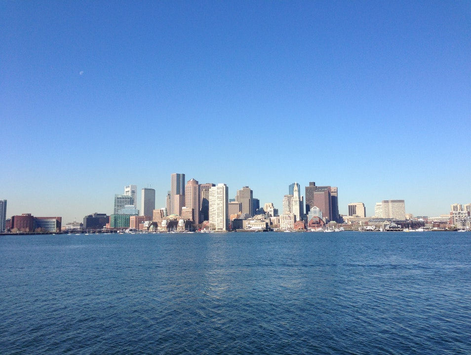 Great City-View from Across the Harbor