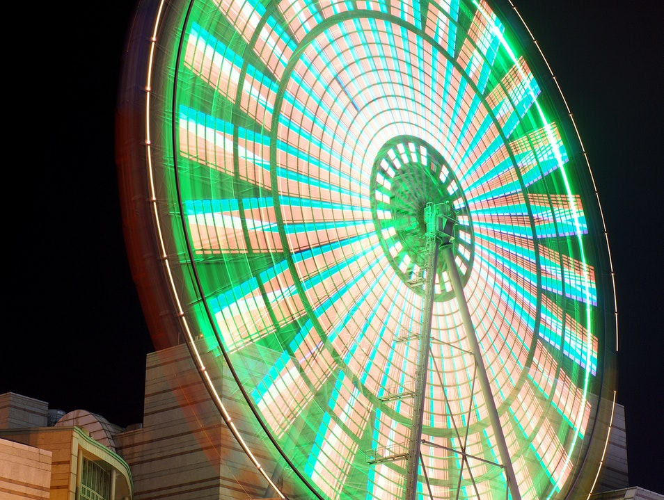 Ride a Ferris Wheel on Top of a Mall