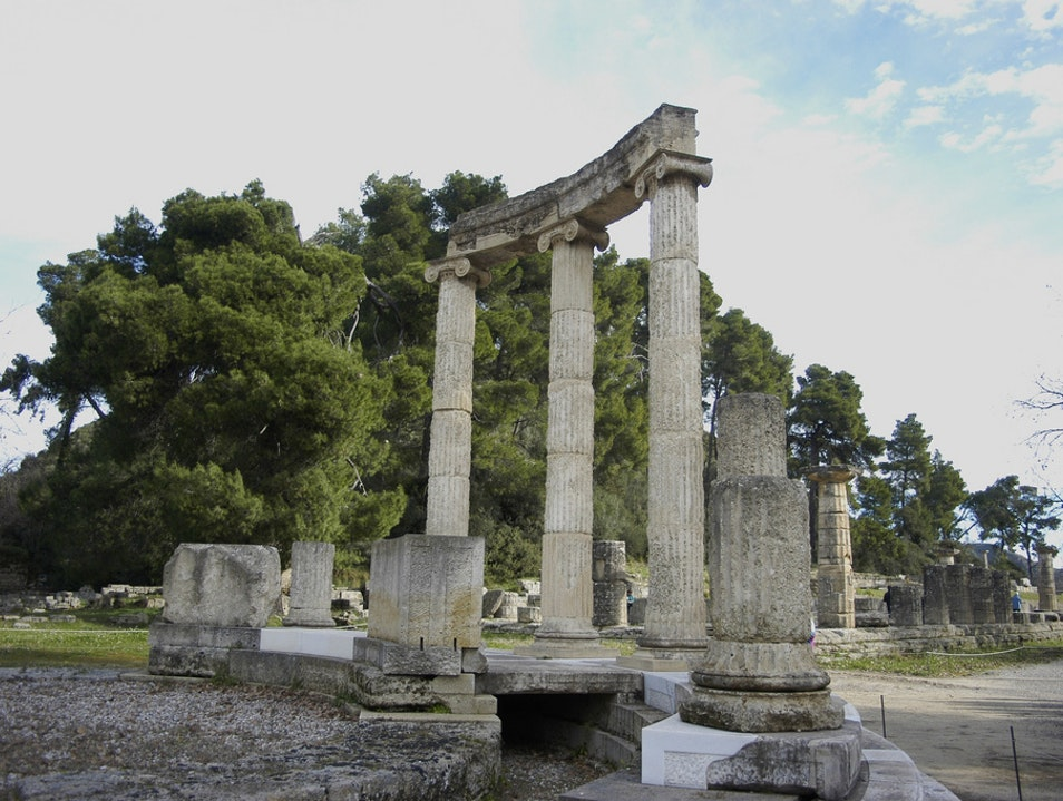 Birthplace of the Olympic Games Elis  Greece
