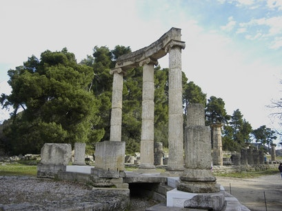 Stadium at Olympia Elis  Greece