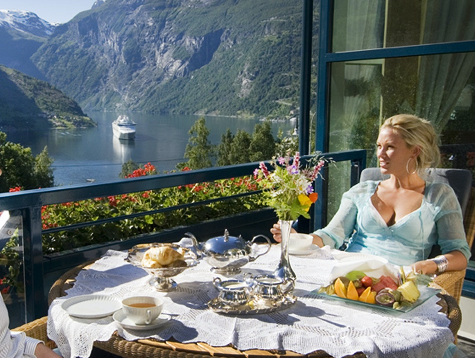 Restaurant Fjorden at Hotel Union Stranda  Norway
