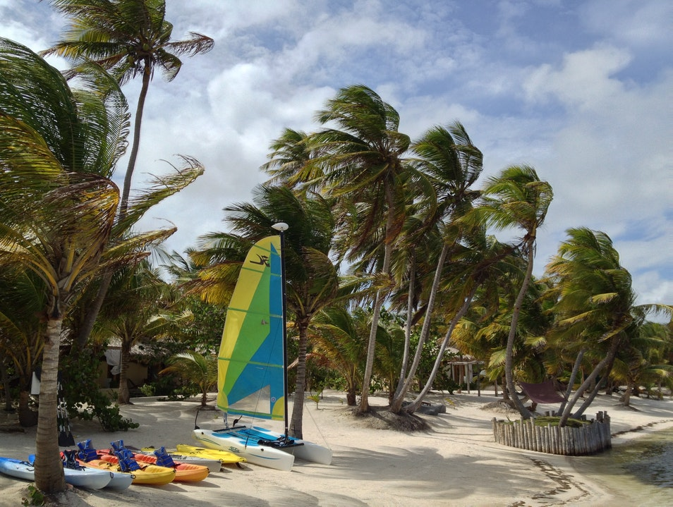 Stay at Glover's Atoll Resort
