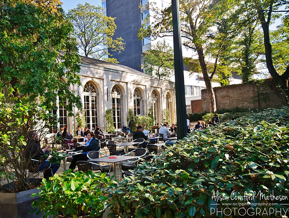 Splurge for Brunch at L'Orangerie du Parc d'Egmont Brussels  Belgium