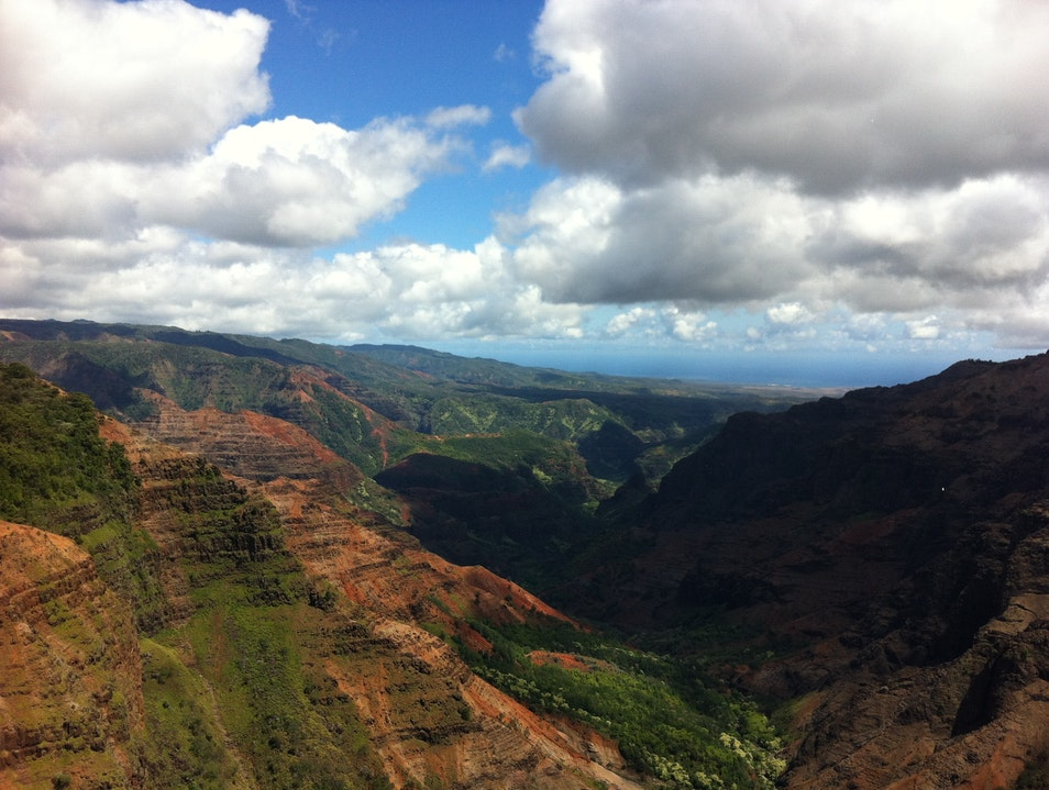 Grand Canyon of the Pacific on Kauai Waimea Hawaii United States