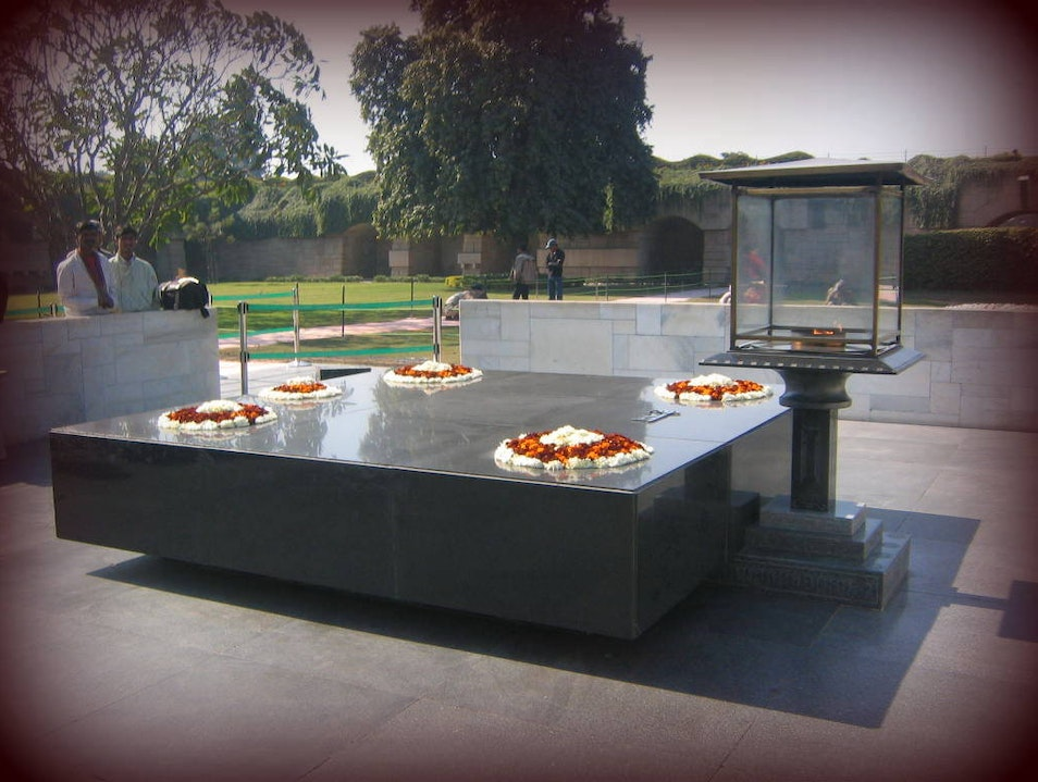 Pay Your Respects to Mahatma Gandhi New Delhi  India