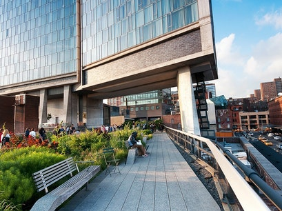 The High Line and the Whitney Museum of American Art New York New York United States