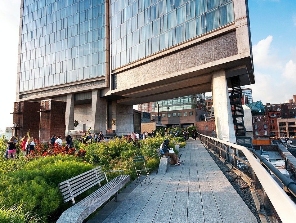 The High Line and Whitney Museum of American Art