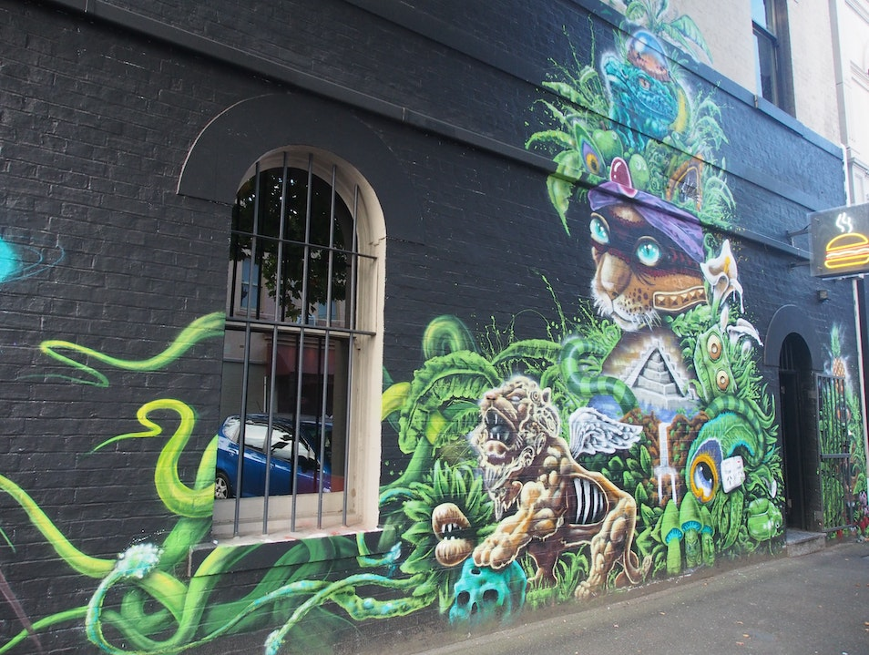 Admire Street Art in Melbourne's Gritty Suburbs