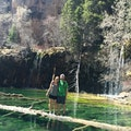 hanging lake Gypsum Colorado United States