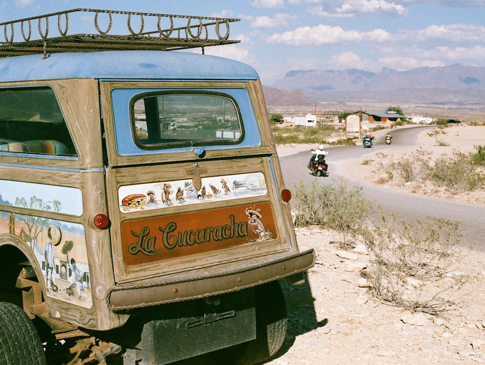A Day in Terlingua Ghost Town Terlingua Texas United States