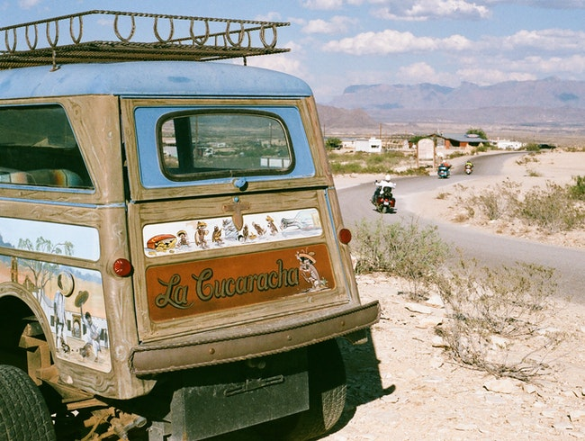 A Day in Terlingua Ghost Town