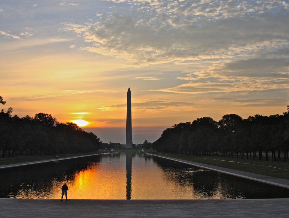 Lincoln's Reflecting Pool is Back! Washington, D.C. District of Columbia United States