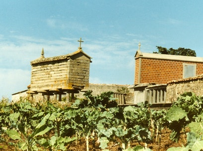 Granaries of Combarro Poio  Spain