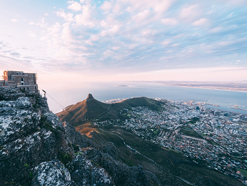 Table Mountain Aerial Cableway   South Africa