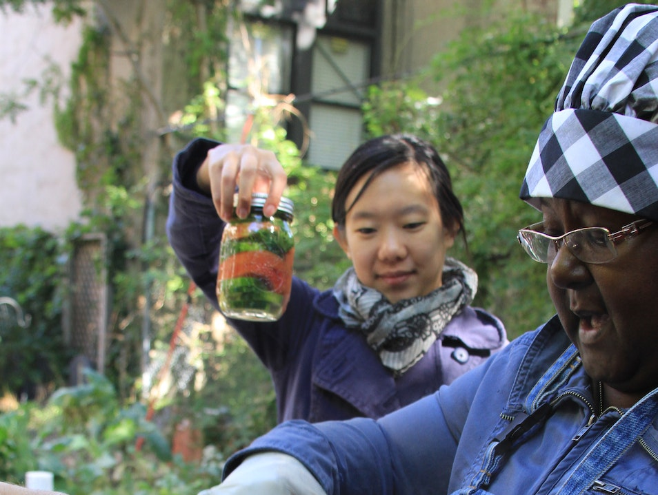 Canning with Classie in Harlem New York New York United States