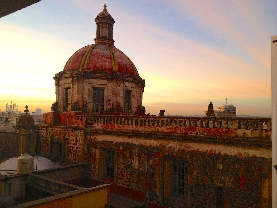 View from one of the rooms Guadalajara  Mexico
