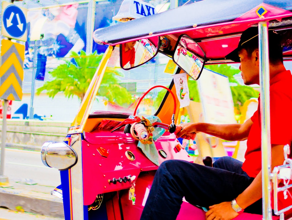 Are We There Yet?: Tuk Tuks Bangkok  Thailand