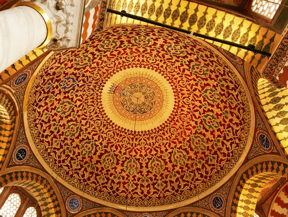 Beautiful Ceiling Istanbul  Turkey