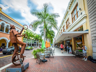 Historic River District Fort Myers Florida United States