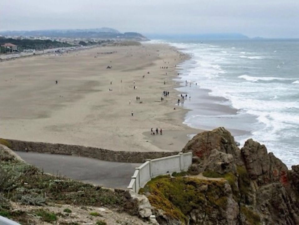 A View To Ocean Beach San Francisco California United States