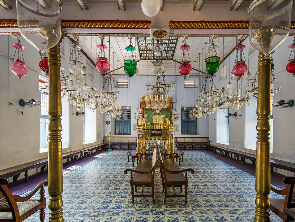 Paradesi Synagogue Kochi  India