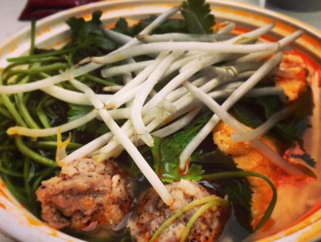 Bun Rieu isn't just limited to Vietnam...