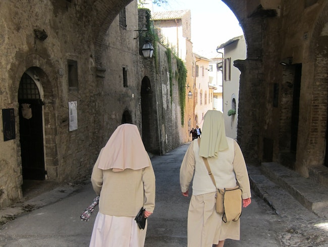 Meandering through Spoleto in Umbria, Italy