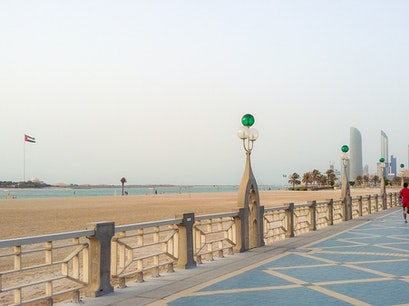 Corniche Beach Abu Dhabi  United Arab Emirates