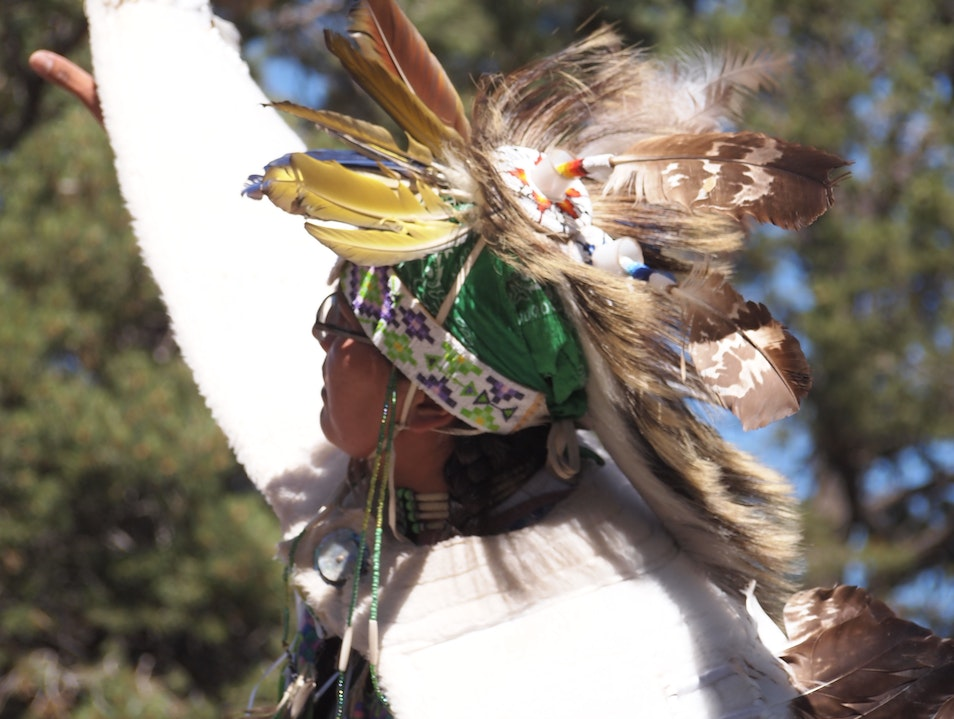 Eagle Dancer North Rim Arizona United States