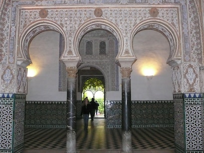 The Alcazar Seville  Spain