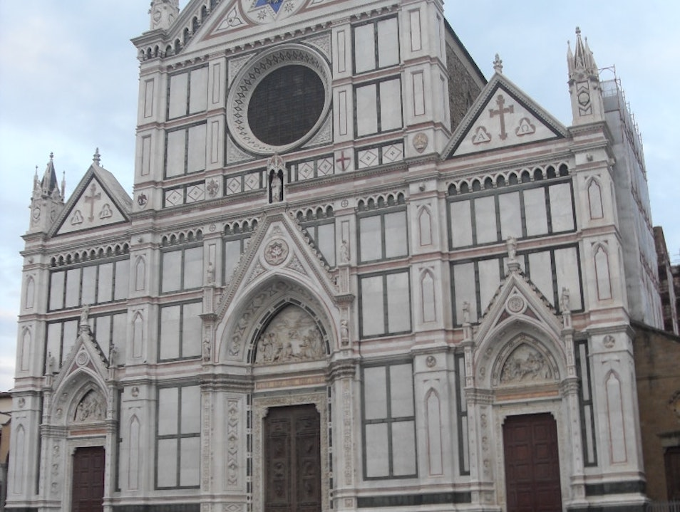 Basilica di Santa Croce: The Origins of the Stendhal Syndrome  Florence  Italy