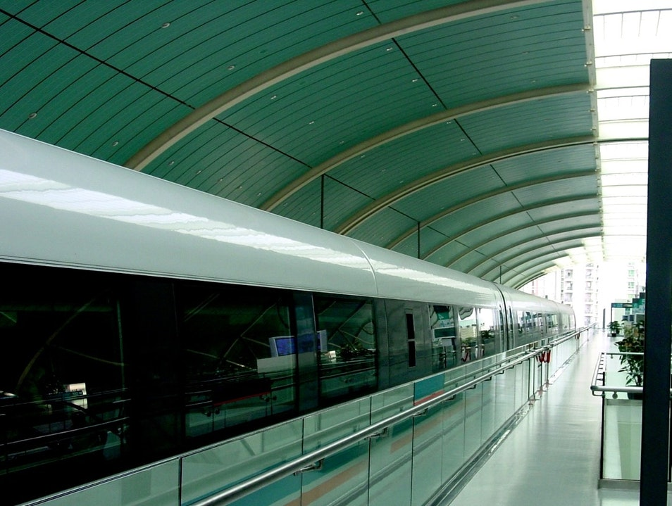 Ride the Maglev Shanghai  China