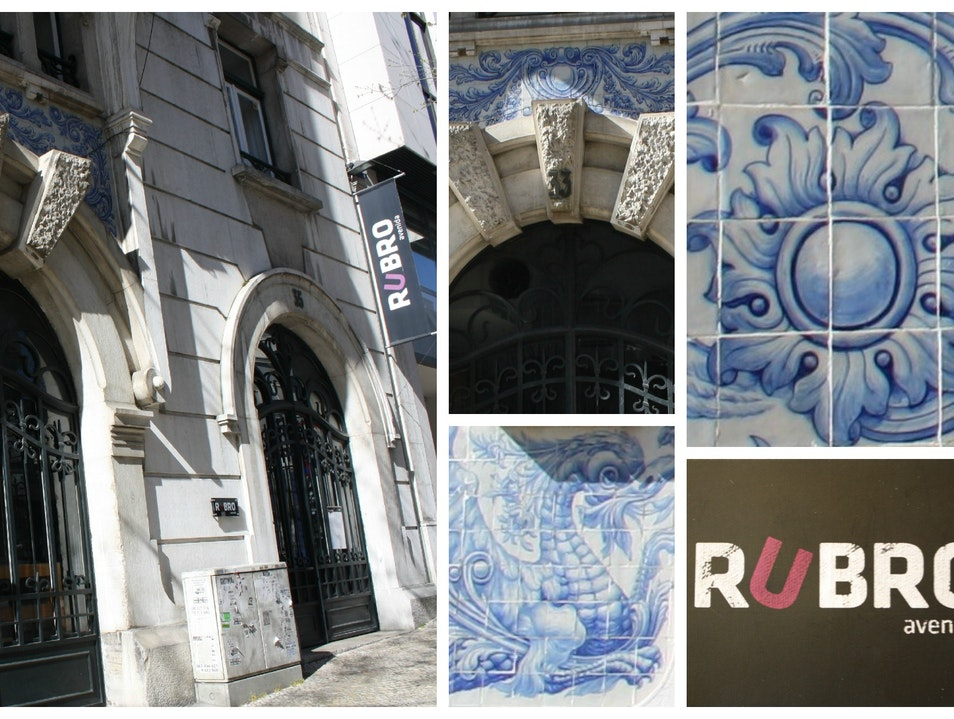 Relaxed dining at Rubro Lisbon  Portugal
