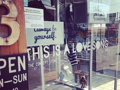 THIS IS A LOVE SONG Concept Store Kuta  Indonesia