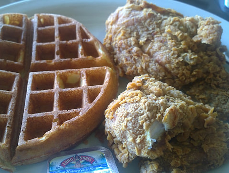 Where I go when I'm dreaming of Fried Chicken and Waffles.