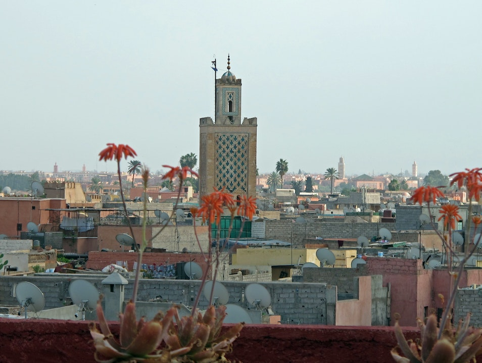 Panoramic Marrakech Marrakech  Morocco