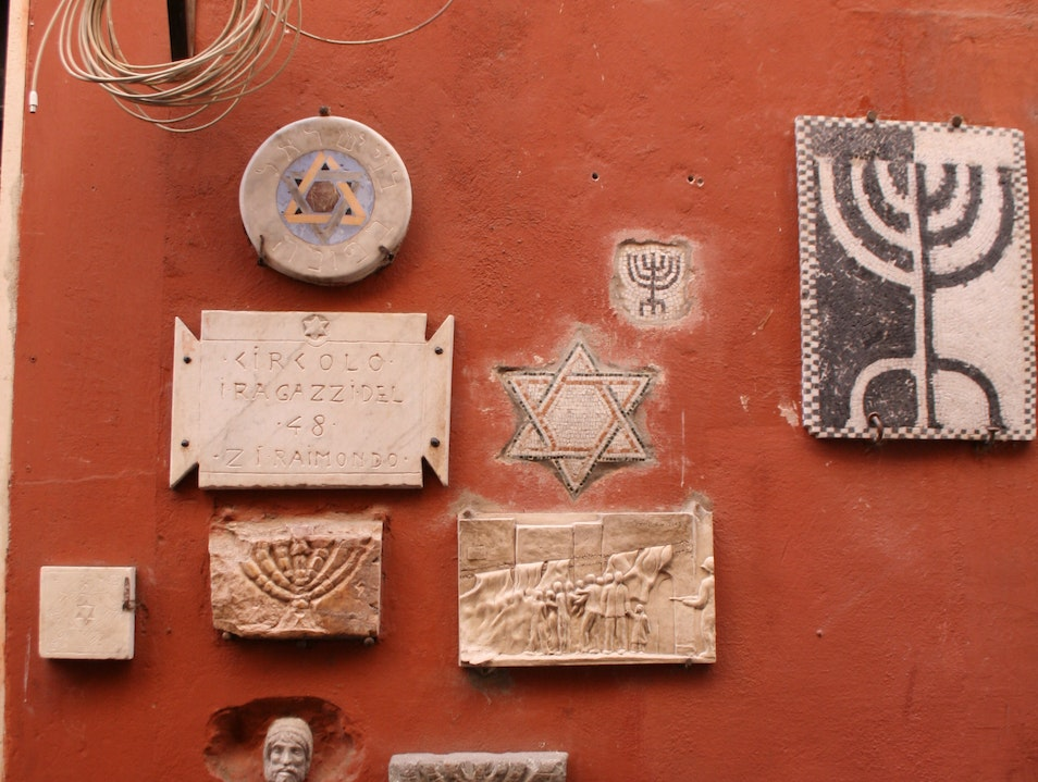 The Jewish Ghetto, Rome Rome  Italy