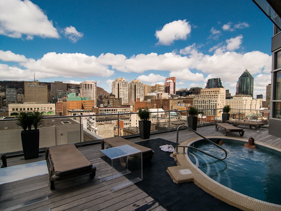 Take a 12th-Floor Dip Downtown  Montreal  Canada