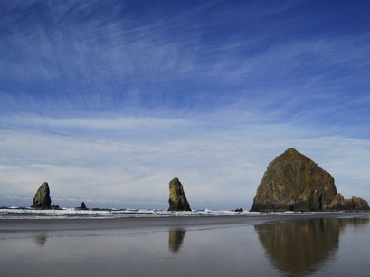 Cannon Beach Surf Cannon Beach Oregon United States