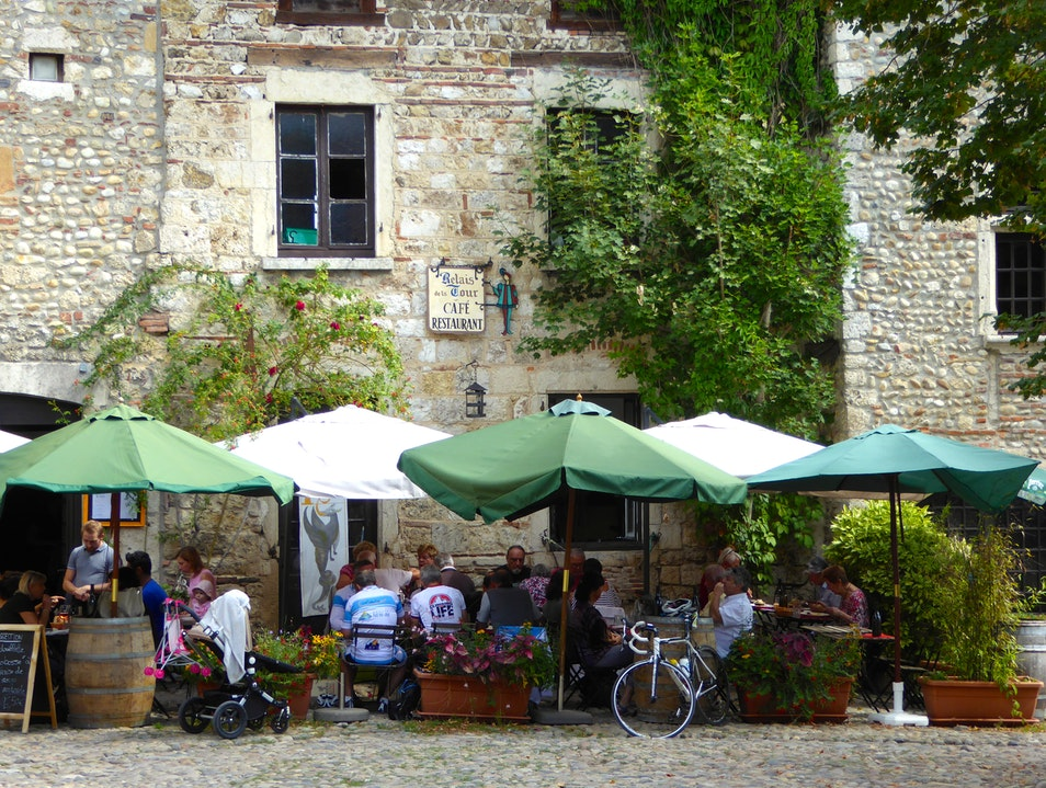 Fabulous French Fare Pérouges  France