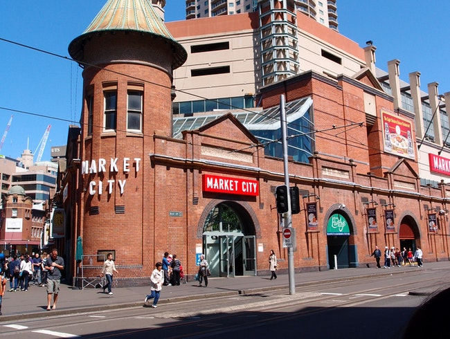 Food and Fashion Markets in the Heart of Sydney