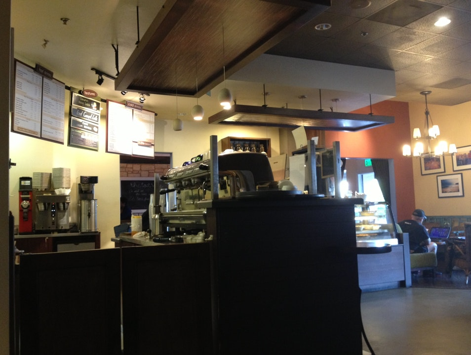 Organic Coffee and Tea at the Lost Bean Tustin California United States