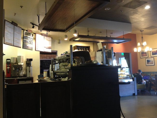 Organic Coffee and Tea at the Lost Bean