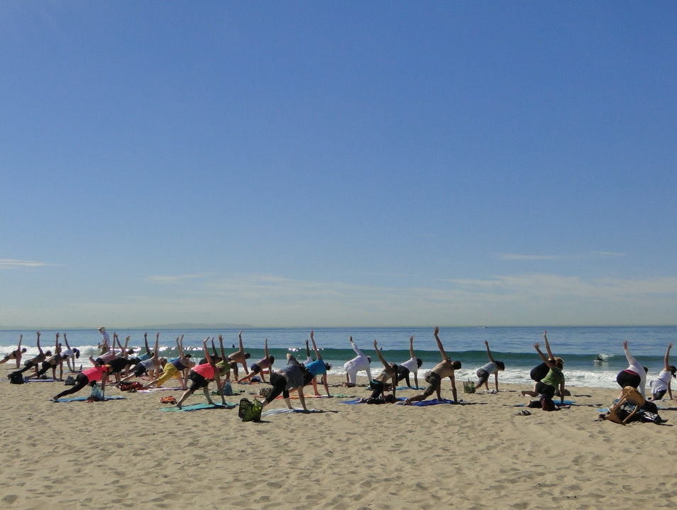 Beach Yoga with Brad Santa Monica California United States