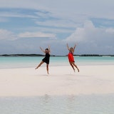 Sandbar near Great Exuma