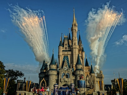 Magic Kingdom Park Orlando Florida United States