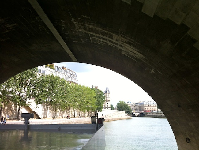 Paris from the eyes of the Seine