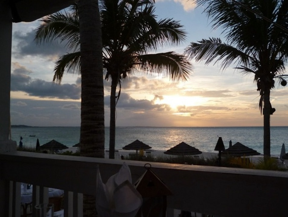 Seafood in the Sand: Bay Bistro The Bight Settlement  Turks and Caicos Islands