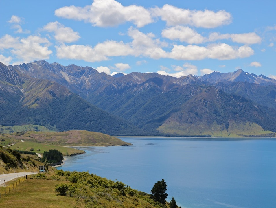 Discover the Beauty of Lake Hawea Dingle Burn  New Zealand